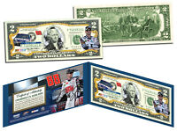 DALE EARNHARDT, JR Nascar NATIONAL GUARD Legal Tender U.S. $2 Bill *LICENSED*
