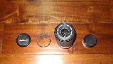 KALIMAR MC 80-200mm F4.5-5.6 lens for MINOLTA MD Mount W/ CAPS & HOYA FILTER