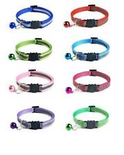 Cat Collar - Quick release with Bell to protect birds FREE P&P - 8 Colours