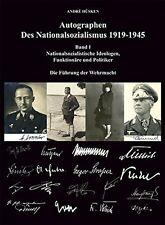Autographen des Nationalsozialismus 1919-1945 Hüsken Autogramme 3. Reich Buch