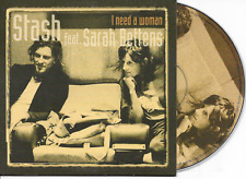 STASH ft SARAH BETTENS - I need a woman CD SINGLE 2TR Cardsleeve 2006 Belgium