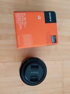 Sony SEL 28-70mm Full Frame Lens