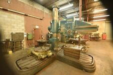 "American Tool Hole Wizard Radial Drill 74197, 6' Arm 17"" Column Diameter, 1954"