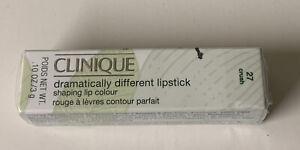 Clinique Dramatically Different Lipstick 27 Crush NIB Full Size .10 oz Shaping