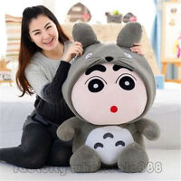 "18""Anime Totoro Crayon Shin-Chan Nowara Shnnosuke Plush Soft Toys Doll Kids Gift"