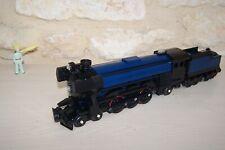 lego rare train emerald night 10194 with tender ,.. black and dark blue .