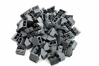 Dark Bluish Gray Slope Inverted 45 2 x 2 - TCM Compatible Bricks - QTY: 100 Pcs