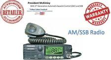 President McKinley AM/SSB 40 Channel CB Radio 12/24V