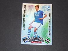 HÖWEDES LIMITED SCHALKE 04 TOPPS ATTAX PANINI FOOTBALL BUNDESLIGA 2010-2011