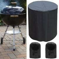 Outdoor BBQ Grill Stove Covers Gas Fire Pit Heavy Duty Waterproof Round Cover US