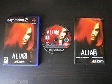 JEU Sony PLAYSTATION 2 PS2 : ALIAS (Acclaim COMPLET envoi suivi)