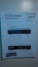 Kenwood kt-3050 L Service Manual Original Reparatur Buch Stereo Tuner Receiver