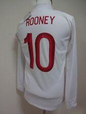 England #10 Rooney 100% Original Soccer Football Jersey Shirt 38 2012 Home NWT