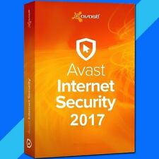 Avast Internet Security 2017 (3PC / 2 YEARS / GENUINE FULL License )
