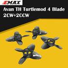 2 Pairs Emax Tinyhawk Indoor FPV Racing Drone Avan TH Turtlemode Propeller Blade