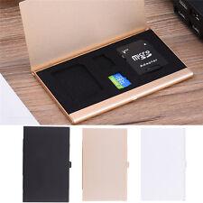 Good Metal Aluminum Memory Card Protecter Box Storage Case Holder SD/SDHC/MMC