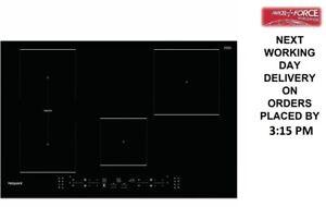 Hotpoint TB3977BBF 77cm 4 Burners Black Induction Hob + 1 Year Warranty (New)