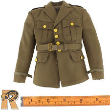 US Army Officer - Jacket A w/ Gold Buttons - 1/6 Scale - POP Toys Action Figures