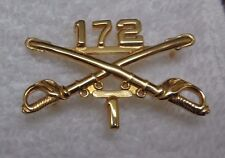 OFFICERS COLLAR DEVISE, BRANCH OF SERVICE 1ST SQUADRON, 172ND CAVALRY RGT