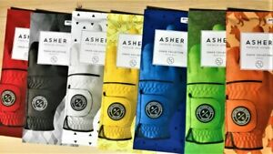 CHUCK BY ASHER GOLF GLOVES, RIGHT HANDED GOLFER(FITS ON LEFT HAND) 7 COLORS!