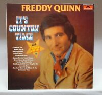 Freddy Quinn It's country time (1976) [LP]