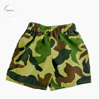Build A Bear Workshop Clothing Green Camouflaged Camo Shorts Accessories