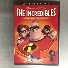 The Incredibles Dvd Widescreen 2 Disc Collector's Edition