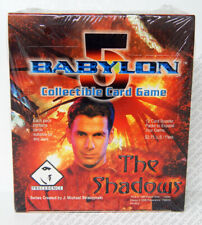 Babylon 5 CCG Shadows Edition Booster Box 18 Packs 12 Cards Each Sealed Game New