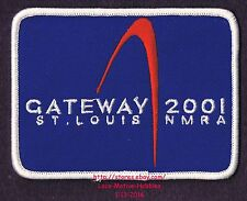 LMH Patch  2001 GATEWAY National Convention  NMRA Division  MODEL RAILROAD Train