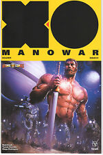 X-O MANOWAR #1 Exclusive ATOMIC COMICS VARIANT by Clayton Crain - Valiant Kindt
