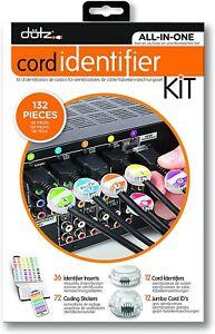 Dotz Home Entertainment Cord Identifier Kit
