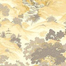 Archives oriental paysage papier peint jaune - Couronne M1192 CHINE NEUF