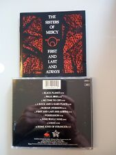 SISTERS OF MERCY - FIRST AND LAST AND ALWAYS -  CD