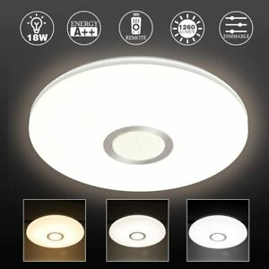 18W LED Ceiling Light Bright Down Panel Wall Bathroom Lamp night light lamps UK