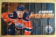 Connor McDavid Edmonton Oilers NHL 3' x 5' Polyester Banner Flag