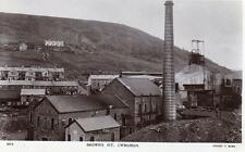 Browns Pit Colliery Cwmaman Nr Aberdare RP old pc  used Ernest T Bush