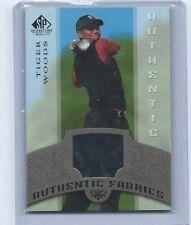 2005 Upper Deck SP Signature Authentic Fabrics Black Shirt Card Tiger Woods