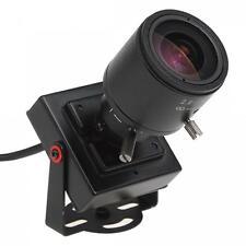 700TVL HD CMOS Audio Video 2.8~12MM Zoomable Color Mini CCTV Security Camera