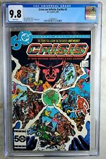 Crisis on Infinite Earths #3 D.C. 1985 CGC 9.8 NM/MT White Pages Comic Q0012