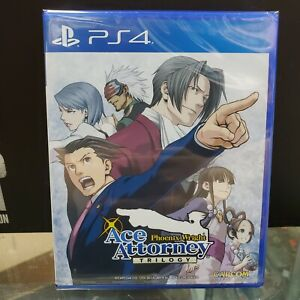 Phoenix Wright Ace Attorney Trilogy ( PlayStation 4 / PS4 ) Brand new
