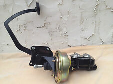 """1935-40 Ford 8"""" power brake booster & 1 1/8"""" bore master cyl w/ residual valve"""
