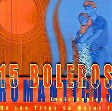 De Los Trios Lo Mejor : 15 Boleros Romanticos Inolvidables CD
