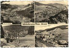 AK, Schönbrunn Thür. Wald, vier Abb., 1962