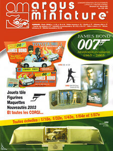 Argus de la Miniature, Spécial James Bond 007