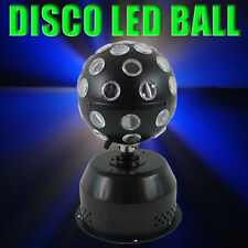 Multi Colour Rotating Disco LED Light Ball DJ Stage Party Lighting Laser Effect