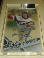 2017 Topps Clearly Authentic CARSON FULLMER Autograph WHITE SOX