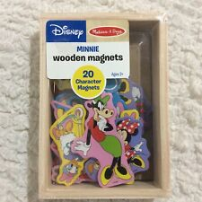 Minnie Mouse Set of 20 Wooden Disney Character Magnets from Melissa & Doug