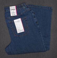 L30 Stonewashede Damen-Jeans im Gerades Bein-Stil