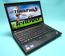 IBM LENOVO THINKPAD x 230 INTEL CORE I5 4GB 12,5Zoll 128 SSD WEB CAM