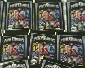 PANINI POWER RANGERS STICKER PACKETS 50 SEALED PACKETS